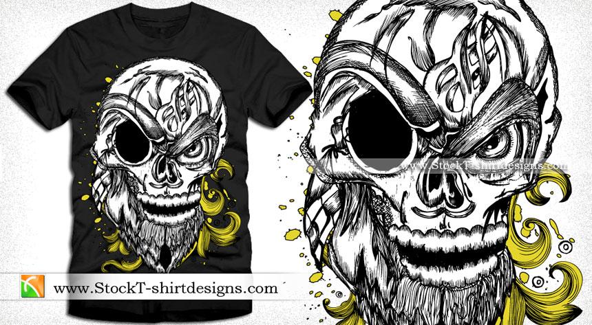 Vector T-shirt Designs | T-shirt Design Illustrator Download | StockT ...
