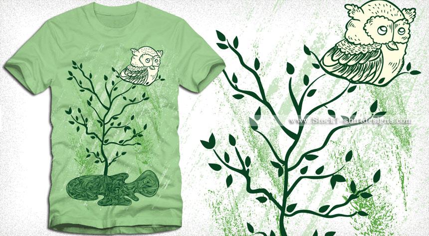 Nature Scene Vector T Shirt Designs Download T Shirt