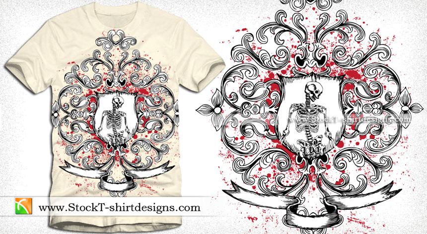 Banner vector t shirt designs download t shirt design for Adobe illustrator design t shirt
