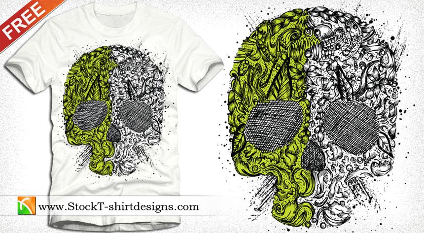 Free Vector T-shirt Design Download | T-shirt Design