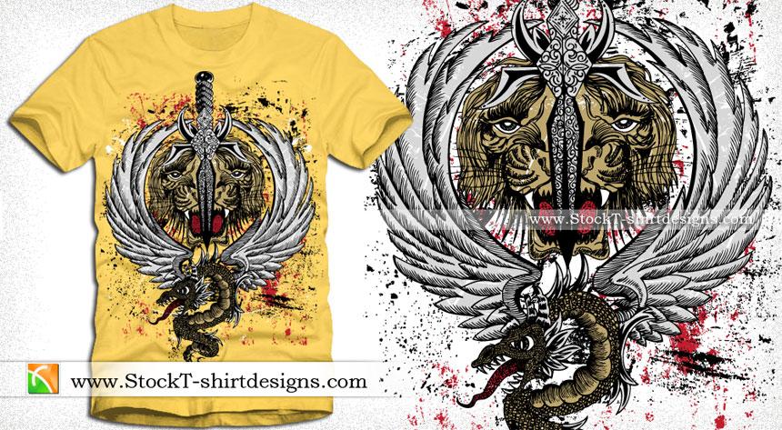 Tiger T-Shirt Designs
