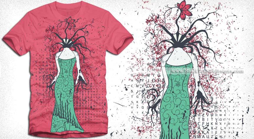 Beautiful Vector T Shirt Designs Download T Shirt Design
