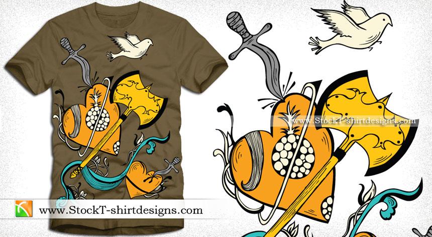 983fb6c7d Royalty Free Vector T-shirt Designs Download | T-shirt Design ...