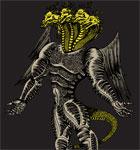 Vector T-shirt Design with Demon Dragon