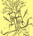 Vector Tree T-Shirt Design